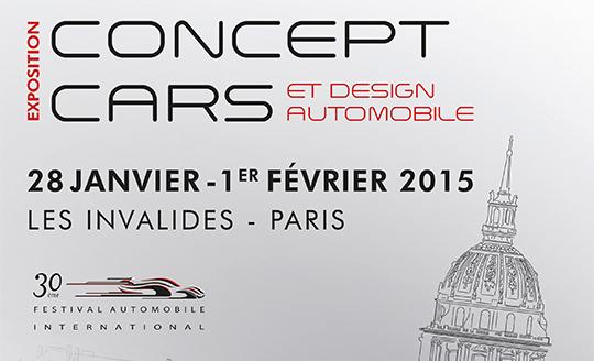 image miniature de l'affiche de l'exposition concept cars et design automobile
